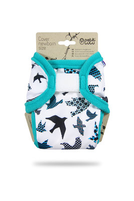 Newborn Cover - Turquoise Birds